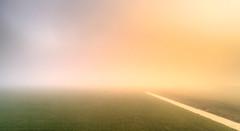 Misty minimalistic sunset. (Alex-de-Haas) Tags: thuystenuwendore dji dutch eenigenburg hdr holland huistenuwendoorn krabbendam nederland nederlands netherlands noordholland phantom phantom4 phantom4pro aerial aerialphotography cloud clouds drone fog goldenhour landscape landschap lucht mist skies sky sundown sunset winter wolk wolken zonsondergang sintmaarten nl