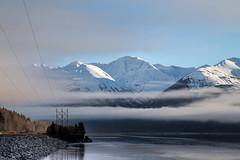 Seward Highway, Alaska (Odd Jim) Tags: seward highway alaska usa mountains water sea clouds travelling travel landscape canon6d canon24105l holiday cold snow road