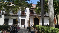 Cartagena (Tomas Belcik) Tags: church interior columns cathedral cartagena colombia oldtown streets lanes colonial architecture colonialarchitecture plaza bolivar