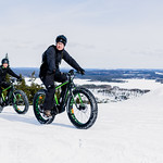 eBike drivers at top of Tahko hill thumbnail