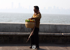 Daily Grind (urvesphotography) Tags: veggies vendor chowpatty marine drive mumbai india maharastra