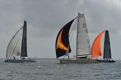 LOX_4039 (Lox Pix) Tags: australia queensland brisbanetogladstone yachtrace catamaran trimaran 2018 bossracing multihull loxpix moretonbay shorncliffe cabbagetreecreek rudder aground sailing loxworx