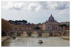 Ponte Sant'Angelo, Rome. (wk4ever) Tags: rome vatican explore on1