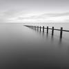 Sea Groynes (Anthony Owen-Jones) Tags: northwales formatt formatthitech groyne longexposure monochrome ndfilter seascape