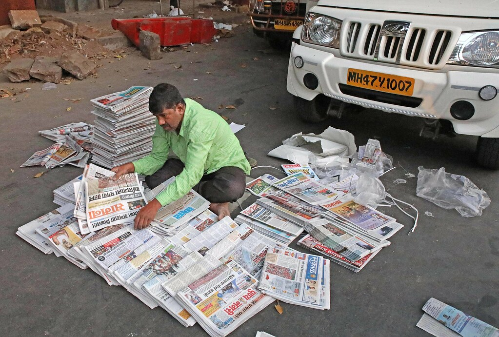 The World's Best Photos of maharashtra and newspaper - Flickr Hive Mind