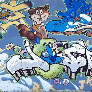 Cereal Mural, Saint-Michel, Montréal