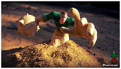 Sandman (Gui Lopes BH) Tags: sandman marvel spider man villains statues comics collection areia homem toys
