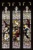 Saundby, St Martin's church window n.I (Jules & Jenny) Tags: saundby stainedglasswindow kempe stmartinschurch annunciation