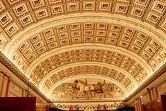 Library of Congress. Ceiling (Marianna Gabrielyan) Tags: library congress washington dc architecture ceiling