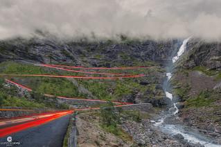 Trollstigen (Trolls Path), driving in one of the most dangerous roads in the world - Åndalsnes (Norway)