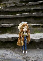 Cool attitude~ (Narmolanya A.) Tags: dolls pullip amarri pullipamarri groove custo peaceandlove