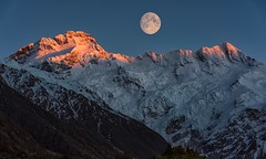 When The Night Is Over (Anna Kwa) Tags: mountcook dawn firstlight mountcookaorakinationalpark mountcookvillage southernalps southisland newzealand annakwa nikon d750 7002000mmf28 my moon always seeing heart soul throughmylens light longing travel world photoshopbyhg destiny life journey fate vielendank theinkdarkmoon izumishikibu justinjesso stargazing hope memories