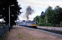 b533 Nairn 47492 8.35 18sep90b533 (Ernies Railway Archive) Tags: nairn station hr lms scotrail
