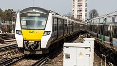 700013 (JOHN BRACE) Tags: 2014 siemens krefeld germany built desiro city class 700 emu 700013 seen east croydon thameslink livery