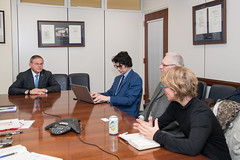 Menendez Meets with Dr. Agnes Callamard