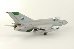 MiG-21MF (5512) Czech Air Force (andrsd80) Tags: mig21 czaf jet airplane scalemodel 148