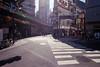 Sunshine (OzGFK) Tags: asia japan tokyo shimbashi trainstation traintracks film analog 35mm nikon nikkor city fujisuperia800 superia800 urban streetphotography