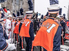 BACKSTAGE AND BEFORE THE PARADE [SAINT PATRICK DAY PARADE IN DUBLIN 2018]-137339 (infomatique) Tags: saintpatricksdayparade 17thmarch stpatricksfestival dublin williammurphy sonya7r111 sony28135mmlens infomatique fotonique marchingband verycoldday snow beforetheparade behindthescenes backstage