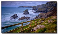 The Fence (jeremy willcocks) Tags: thefence bedruthansteps cornwall ukjeremywillcocksc2018fujixpro2xf1024mm cornish colour landscape fence steps rocks sea sky wwwsouthwestscenesmeuk