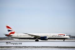 G-ZBKA British Airways Boeing 787-9 Dreamliner DSC_4552 (Ron Kube Photography) Tags: aircraft plane flight airliner dreamliner boeing 7879 boeing7879dreamliner nikon nikond7200 d7200 ronkubephotography yyc calgary calgaryinternationalairport gzbka