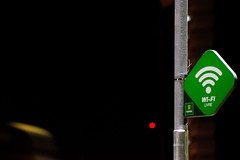 Placa Wi-Fi (glauberalexandre) Tags: nikon d5300 green wifi sigma verde placa 70300mmsigma sigmaapo cuiabá parquedaságuas board