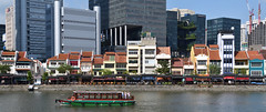(078/365) Monday March 19th (philk_56) Tags: singapore southeast asia boat quay river buildings