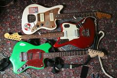 Three Offsets (shortscale) Tags: guitar squier jmascis jazzmaster vm jaguar maverstang offset