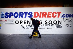 IMG_3837m (JetBlakInk) Tags: afro brixton candid men signage subject2ground sportsdirect streetphotography culturevulture openingsoon sportswear newstore