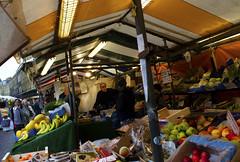Cambridge Market 5/8 (Harry Goddard) Tags: fruit food market banna oranges vibrant colour poles cambridge united kingdom photography nikon d3200 street people selling orange yellow