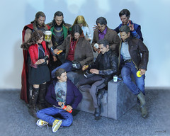 Tony Stark and Death Note (Anna_Mai) Tags: hottoys avengers infinitywar deathnote tonystark steverogers peterparker thor loki buckybarnes stephenstrange brucebanner pepperpotts wandamaximoff