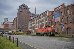 16/03/2018 | Bremen (SB-2013) Tags: baureihe br 295 294 bremen industriehafen maart 2018 märz industrie pakhuis sfeer oude haven db cargo schenker railion 051 roland