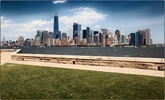 Ellis Island (kareszzz) Tags: ellis island ellisisland us usa newyork ny nyc newjersey landscape urbanphotography travel canon6d ef24105 river manhattan skyscrapers retro