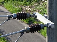 """Der Isolator. Die Isolatoren. Isolatoren verhindern, dass Strom weitergeleitet wird. • <a style=""""font-size:0.8em;"""" href=""""http://www.flickr.com/photos/42554185@N00/26586582127/"""" target=""""_blank"""">View on Flickr</a>"""