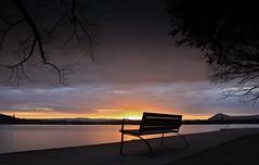 Dernières lueurs (paul.porral) Tags: poselongue longexposure landscape water lake sky lacdannecy sunset light canon outside ngc flickr