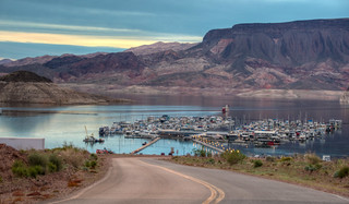 The Lake Mead Marina