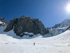 Sur le glacier du Tour Noir, dans l'ascension du Col d'Argentière (Jauss) Tags: alps alpi alpes glacier montée adolescent hautesavoie montblanc chamonix argentière skiderando ski baptiste