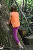 Tree Climbing (Vegan Butterfly) Tags: outside outdoor whitemud ravine nature reserve climb climbing play playing tree fun person kid child vegan homeschool homeschooling