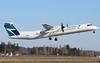 C-GKWE WestJet Encore Bombardier Q400@YYJ 10Mar18 (Spotter Brandon) Tags: westjet encore westjetencore q400 dash8 bombardier cgkwe cyyj yyj victoria theavgeek takeoff