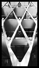 009 of 365 - Architecture (Weils Piuk) Tags: photoblog365 edificio facultad arquitectura universidad de mendoza building faculty architecture university enrico tedeschi 1964 brutalismo brutalist structure plastic element black white bw minimalist weils piuk duba feik hdr