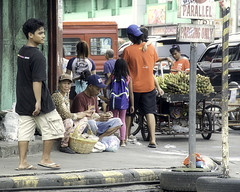 Nuts and Bananas (Beegee49) Tags: street corner people vendors selling nuts bananas prople bacolod city philippines
