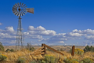 Windmill in High Desert 3924 D