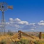 Windmill in High Desert 3924 D thumbnail