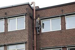 Warm up (Beathe) Tags: drammen strømsø saf studio atelier ruth paniting img5963 climbing branntrapp