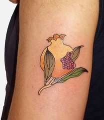 Pomegranate tattoo b (TattooForAWeek) Tags: pomegranate tattoo b tattooforaweek temporary tattoos wicker furniture paradise outdoor