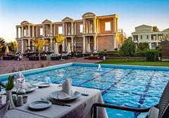 ready for dinner (werner boehm *) Tags: wernerboehm kayartemis cyprus hotel pool dinner