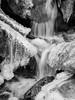 Frozen falls (alf.branch) Tags: mono bw blackandwhite olympus olympusomdem1 omd zuiko zuiko1240mmf28pro water waterfall frozen ice flowingwater