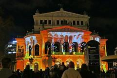 Luminale 2018 Frankfurt, Old Opera (JB Fotofan) Tags: frankfurt luminale2018 luminale lumixfz1000 nightshot nacht lightart lichtkunst