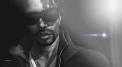 """Lazy is such an ugly word. I prefer to call it selective participation."" :D (Roy Mildor - I am how I am !) Tags: roymildor portrait profile sl secondlife fotograf man guy men cool monochrome headshot photographer"