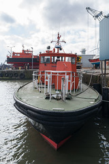 Pilot V Dunlin (frisiabonn) Tags: vehicle ship water wirral liverpool england uk britain marine vessel river mersey merseyside sea shore waterfront maritime boat outdoor peel ports dunlin pilot boghammar briggs