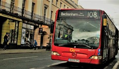 London Central MEC12 a confused 108 in Greenwich 27/03/18. (Ledlon89) Tags: bus buses london tfl transport londonbus londonbuses